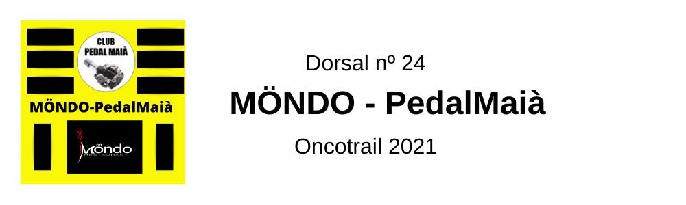 Dorsal Oncotrail Möndo-PedalMaià