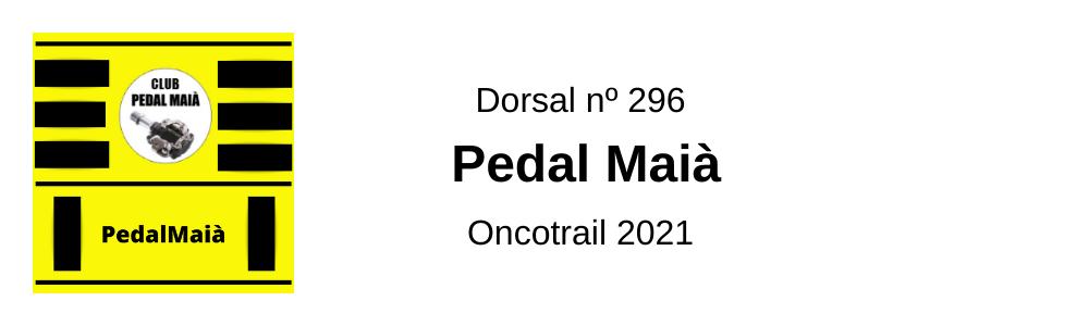 Dorsal oncotrail Pedal Maià