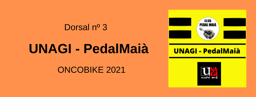 dorsal oncobike pedal maià
