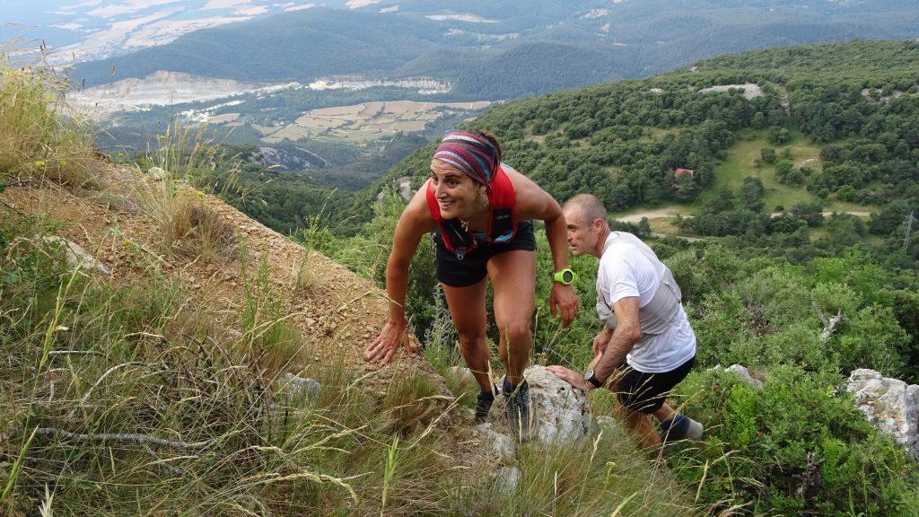Pujada a la Mare de Déu del Mont a la Cursa de Muntanya MontcalRun 2021